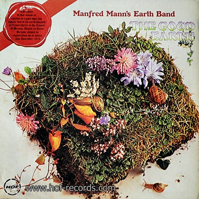 Manfred Mann's Earth Band - The Good Earth 1974 1lp