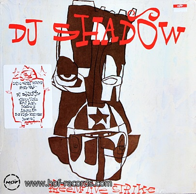 DJ Shadow - Preemptive Strike 2lp NEW