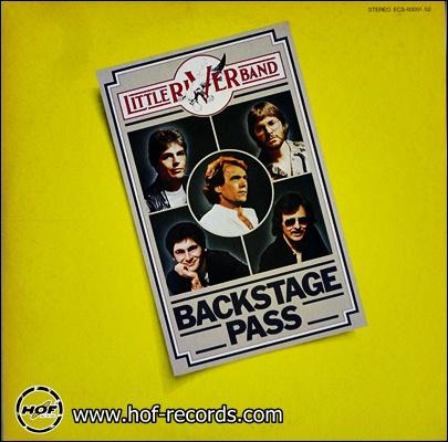 Little River Band - Backstage Pass ( Live ) 2lp