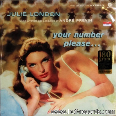 Julie London - Your Number Please... 1Lp N.