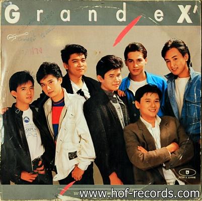 Grand X' - อยากให้ความรัก ( แก่คนทั้งโลก ) ปก VG+ แผ่น VG++
