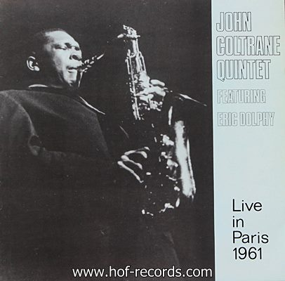 John Coltrane - Live In Paris 1961 1lp