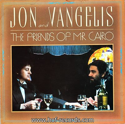 Jon And Vangelis - The Friends Of Mr Cairo 1981 1lp