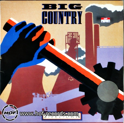 Big Country - Steeltown 1lp