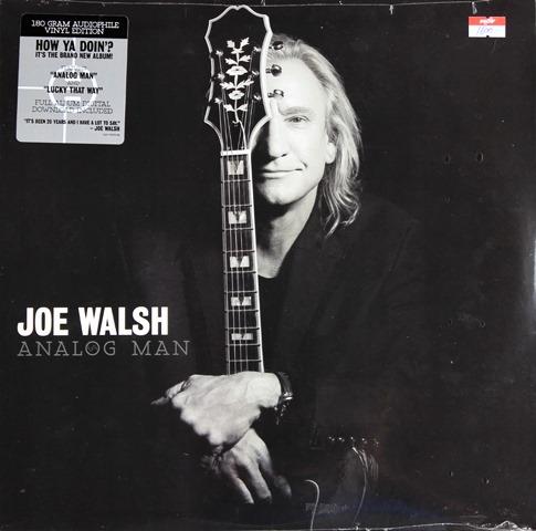 Joe Wlash - Analog Man 1lp N.