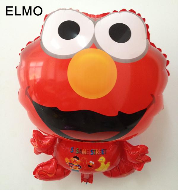 ลูกโป่งฟลอย์ ตัวการ์ตูน ELMO - Elmo Cartoon Foil Balloon / Item No.TL-A047