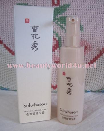 Sulwhasoo Gentle cleansing foam 50 ml. (ขนาดทดลอง)