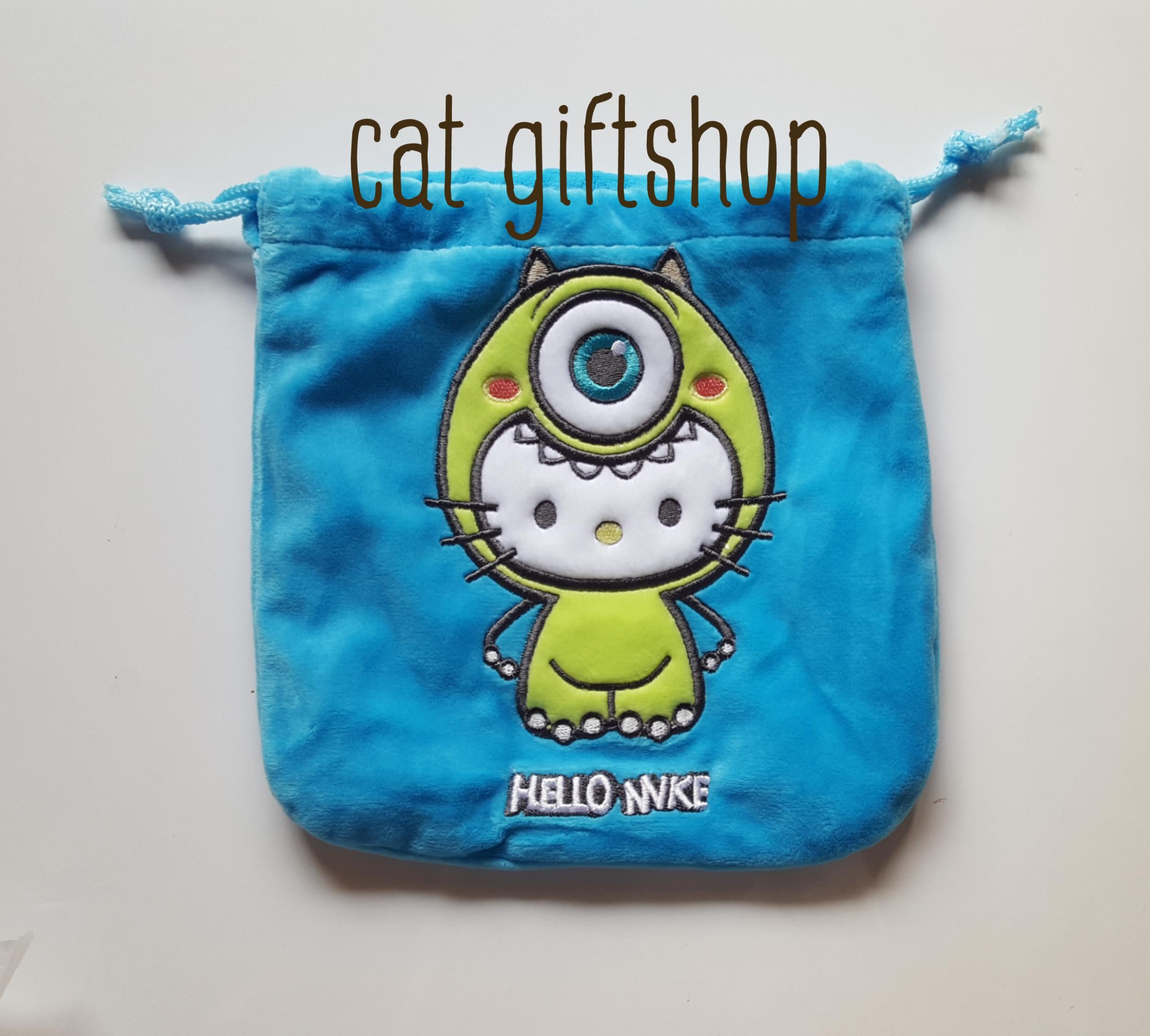 พร้อมส่ง :: ถุงหูรูด hello kitty 18×18 cm.
