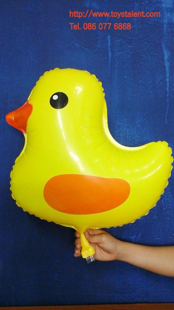 ลูกโป่งฟลอย์ ลูกเป็ดสีเหลือง - Baby Duck Foil Balloon / Item No. TL-B037