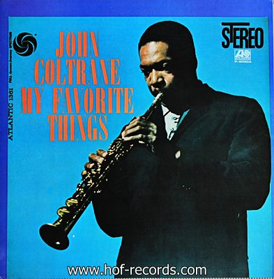 John Coltrane - My Favorite Things 1lp