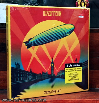Led Zeppelin - Celebration Day Boxset 3Lp N.