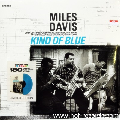 Miles Davis - Kind Of Blue 1Lp N.