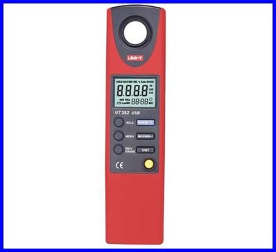 เครื่องวัดแสง วัดความสว่างแสง มิเตอร์วัดแสง วัดค่ากำเนิดแสง แปลงหน่วยเป็นลูเมนได้ UNI-T UT382 Luminometer 20-20000 Lux Lumen Light Meter Photometer