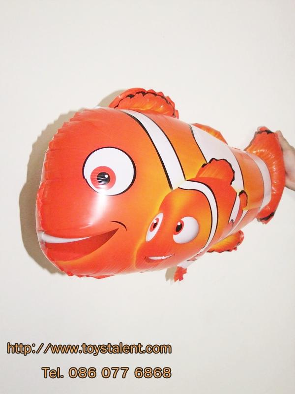 ลายปลาการ์ตูน นีโม่พ่อลูก - Two Clown Fish Shape Balloon/ Item No.TL-B006