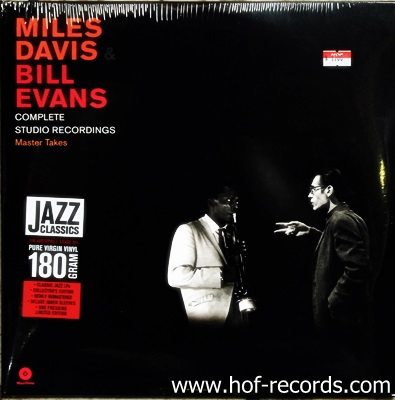 Miles David & Bill Evans - Complete Studio Recordings 2Lp N.