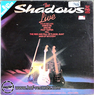 the shadows - live 2lp