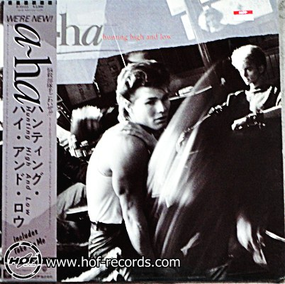 a-ha - Hunting high and low 1 LP