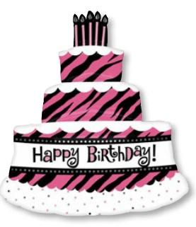 ลูกโป่งฟลอย์นำเข้า Oh So Fabulous Triple Layer Cake / Item No. AG-25233 แบรนด์ Anagram ของแท้