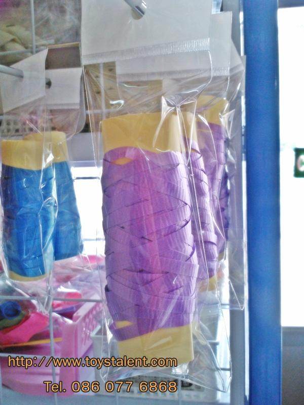 ริบบิ้น สีม่วงเข้ม สำหรับผูกลูกโป่ง ยาว 10 เมตร - Ribbon Deep Purple Color For Balloon