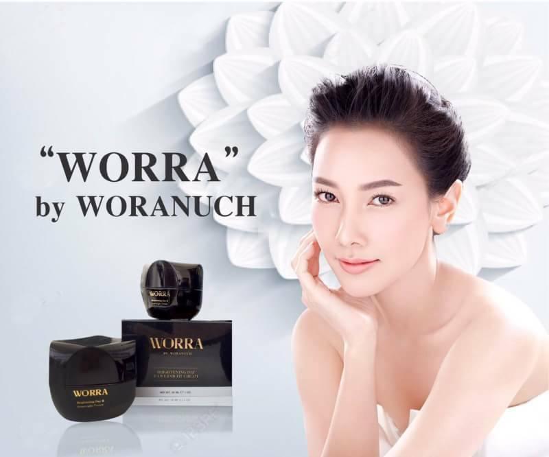 Worra By worranuch brightening day & overnight cream ให้ผิวคุณนุ่ม เด็กเด้ง กระจ่างใสจนคุณสัมผัสได้ ตั้งแค่ครั้งแรกที่ใช้