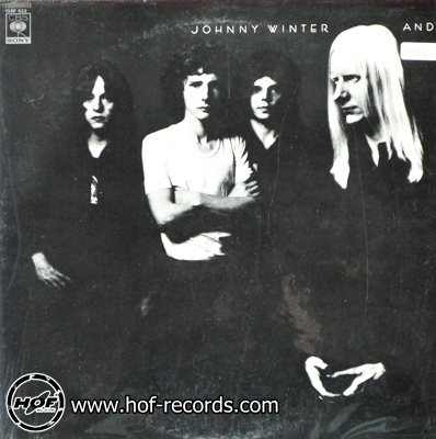 johnny winter - and 1lp