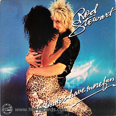 Rod Stewart - Blondes Have More Fun 1978 1lp
