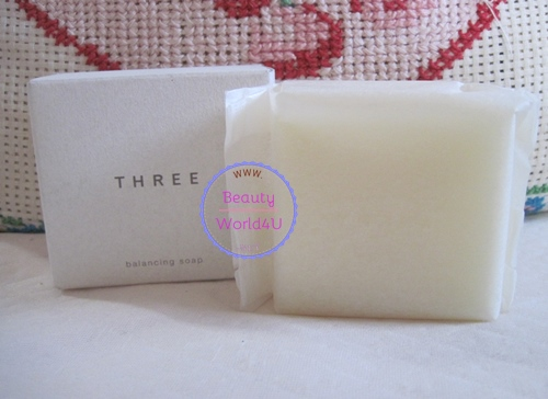 Three balancing soap 80 g. (ลดพิเศษ 48%)