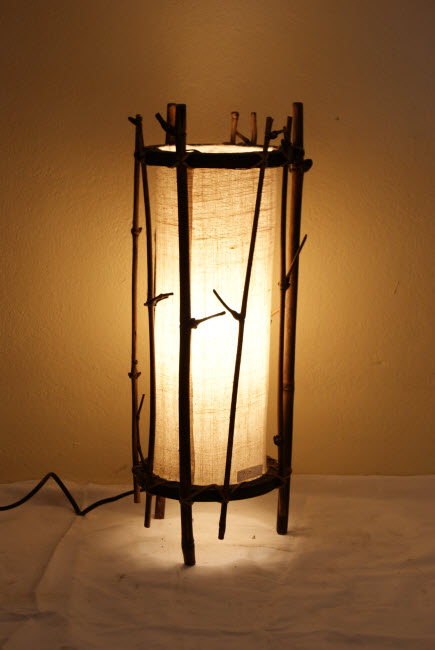 โคมไฟไม้ไผ่ BL-1001