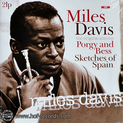 Miles Davis - Porgy And Bess,Sketches Of Spain 2lp NEW