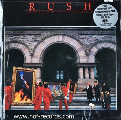 Rush - Moving Pictures 1lp N.