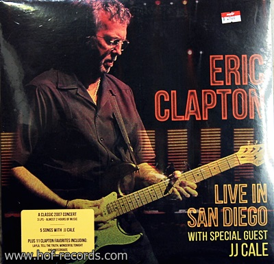 Eeric Clapton - Live In San Diego With Special Guest JJ cale 3 Lp N.