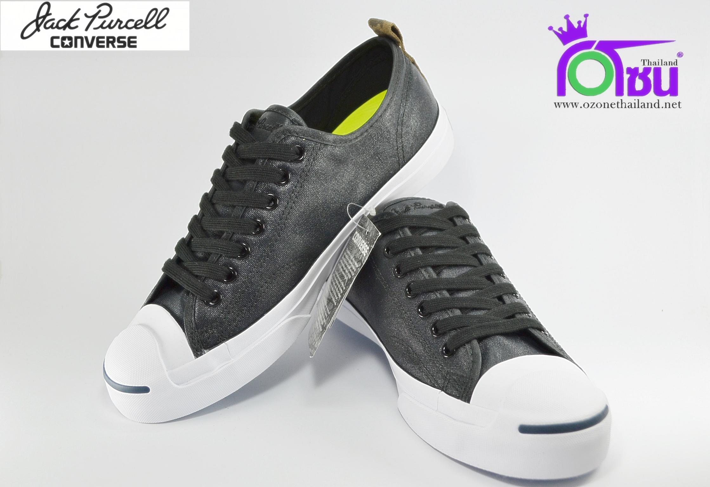 รองเท้าผ้าใบ CONVERSE JACK PURCELL JACK OX BLACK/WHITE เบอร์ 7,8,9