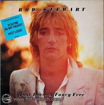 Rod Stewart - Foot Loose & Fancy Free 1977 1lp