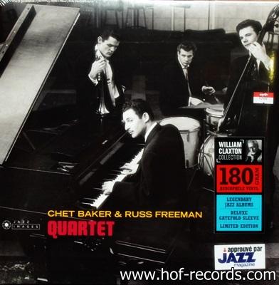 Chet Baker & RussFreeman - Quartet 1Lp N.