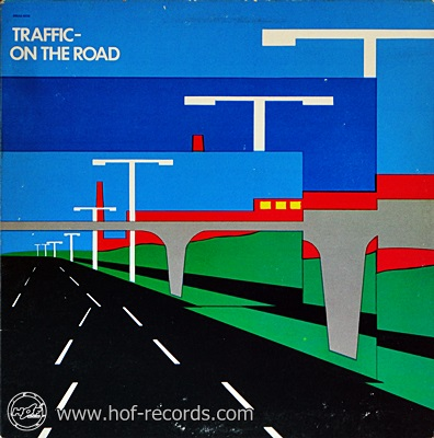 Traffic - On The Road 1973 1lp