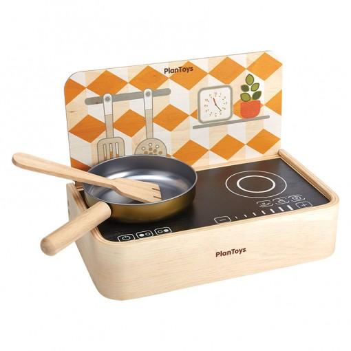 ของเล่นไม้ ของเล่นเด็ก ของเล่นเสริมพัฒนาการ Portable Kitchen ชุดครัวพกพา (ส่งฟรี)