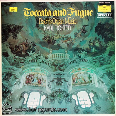 Karl Richter - Toccata And Fugue Bach's Organ Music 1lp