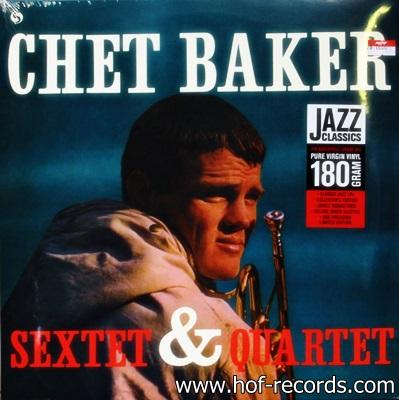 Chet Bakers - Sextet & Quartet 1Lp N.