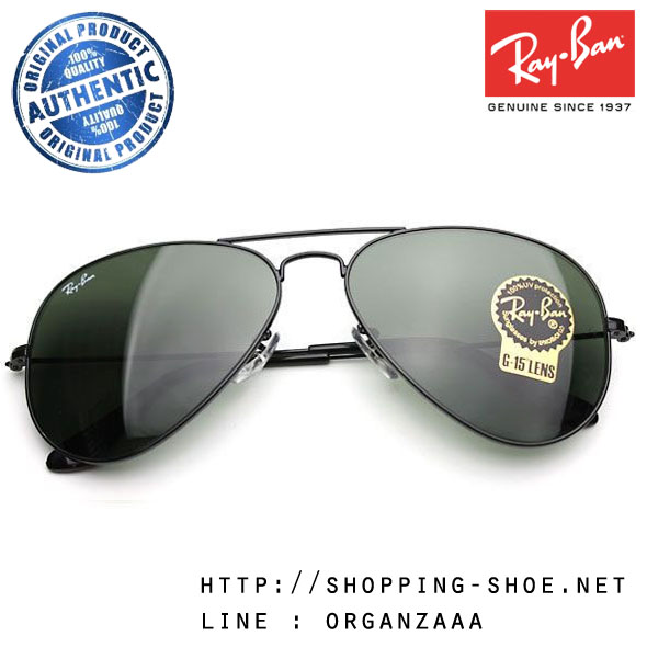 RayBan - RB3025 L2823 Aviator Classic Black, 58 mm.