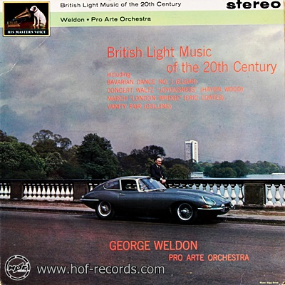George Weldon - British Light Music Of The 20 Th Century 1lp