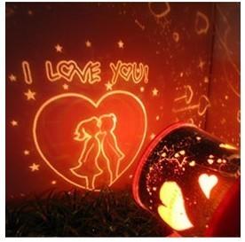 โคมไฟบอกรัก I Love You รูปจูบ