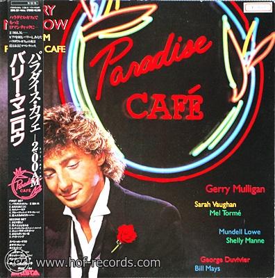 Barry Manilow - Paradise Cafe' 1984 1lp