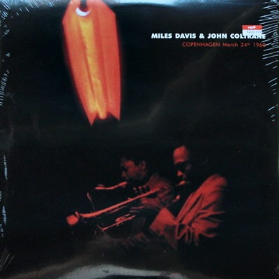 Mile Davis & John Coltrane - Copenhagen March 24 th 1960 1Lp N.