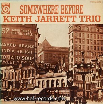 Keith Jarrett - Somewhere Before 1969