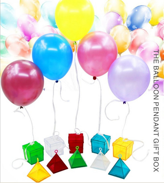 ฐานยึดลูกโป่ง ทรงสี่เหลี่ยม - Square shape balloon weight
