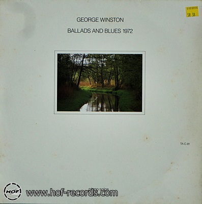 George Winston - Ballads And Blues 1972 1lp