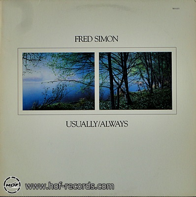 Fred Simon - Usually / Always 1988 1lp