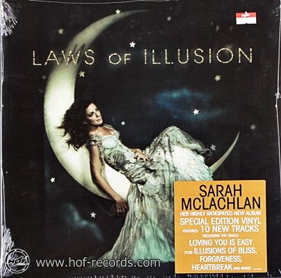 Sarah Mclachlan - Laws Of Illusion 1lp NEW