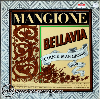 Chuck Mangione - bellavia 1lp