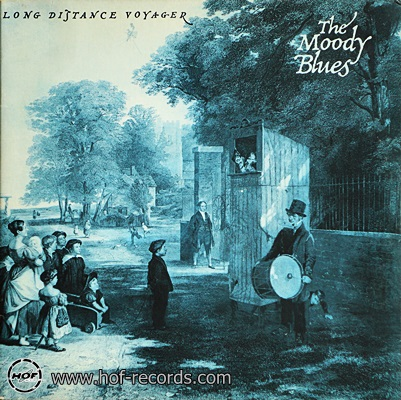 The Moody Blues - Long Distance voyager 1981 1lp